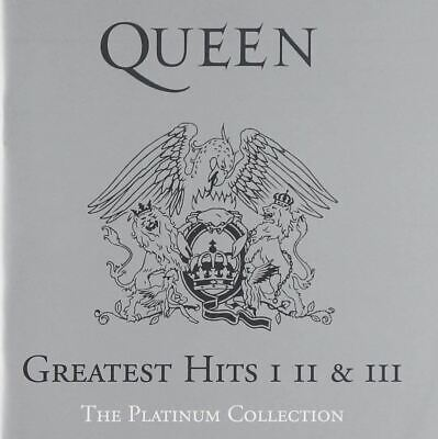 Queen, Greatest Hits I II & III: The Platinum Collection CD