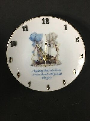 Holly Hobby Plate Made Into A Wall Clock !!