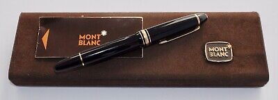 Vintage Montblanc Meisterstuck Document Marker Pen 166 - With Box - New Refill