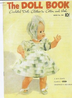 """The Doll Book"" Doll Crochet Pattern Book - COPY"