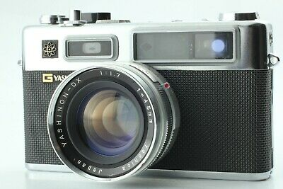 YASHICA ELECTRO 35 35mm Film Camera with Yashinon DX 45mm f/1.7 Lens from Japan