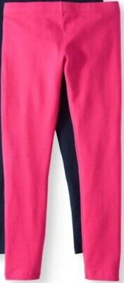 Girls Brand New With Tags Pink Full Length Leggings Pants Size 14-16 NWT !