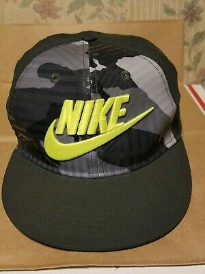 f6a39a448c3 NIKE HAT BASEBALL CAP Camo Camouflage Adjustable One Size Fits Most No Tags  NEW!