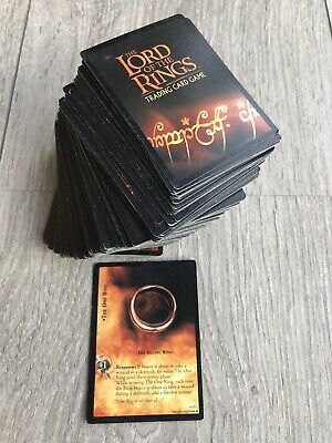 Lotr Lord Of The Rings - Mixed Lot Of 222 Trading Cards By Decipher Ccg 2002/03