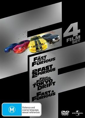 The Fast And The Furious / 2 Fast 2 Furious /Tokyo Drift, Fast & Furious 114