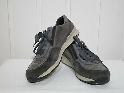 Ara Women's Shoes Suede Leather Grey Size 5.5