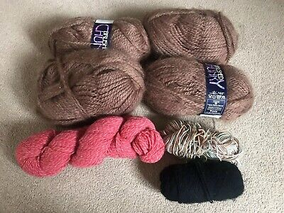 Mixed Lot Of Balls Wool Various Colours