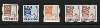 Sweden, Postage( Scott #,400-03.Swedish Pioneers)  (*066)