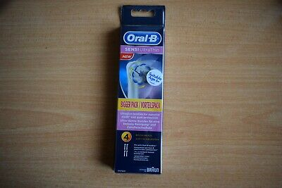 Oral-B Sensi Ultrathin Electric Rechargeable Toothbrush Heads Pack Of 4 Refills