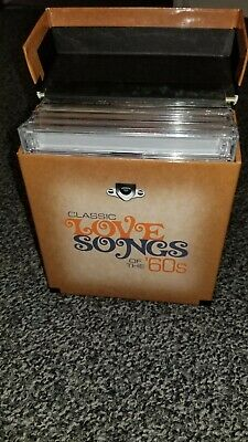 CLASSIC LOVE SONGS OF THE '60s NEW SEALED 10 CD BOX SET FROM TIME LIFE