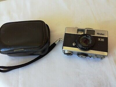 Rollie 35b Camera With Case Working