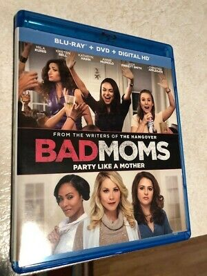 Bad Moms [Blu-ray/DVD] 2016