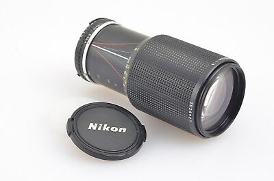 EXC+++ NIKON SERIES E AI-S 70-210mm F4 ZOOM LENS, CAPS, INSTRUCTIONS, NICE!