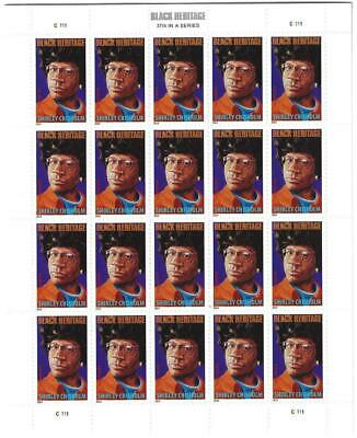 Us Scott 4856 Pane Of 20 Shirley Chisholm Stamps Forever Mnh
