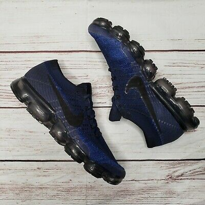 Nike Air VaporMax Flyknit College Navy Day to Night Pack size 10.5 849558-400