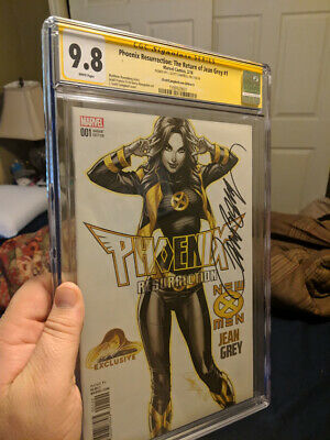 Phoenix Resurrection: The Return of Jean Grey 9.8 CGC signed Campbell Edition G