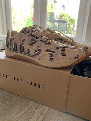 349a4676b664a NO BULL Men's Sand Camo Gum Trainers Size 13 Crossfit across Training Wod