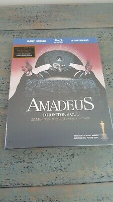 Amadeus - Directors Cut  2-disc Bluray And Soundtrack Digibook Rare OOP New
