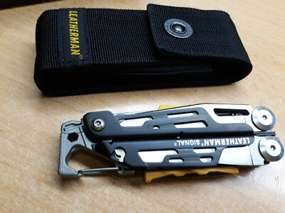 Leatherman Signal, Con Funda De Nilon
