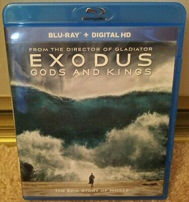 Exodus Gods and Kings (Blu-Ray) Buy more Save more (READ)