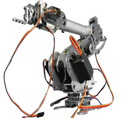 6Axis Fully Assembled Mechanical Robotic Arm Clamp Claw for Arduino