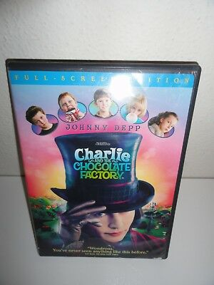 Charlie And The Chocolate Factory Full Screen Dvd