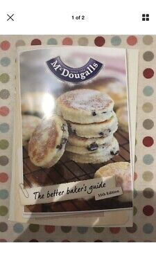 NEW McDougall's 'The better bakers guide' Home Baked Recipe Book 35th Edition.