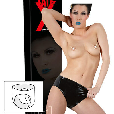 "Damen Latex Dildoslip S M L XL 1-fach Dildo Slip Vaginal Naturlook ""Rigmor"""