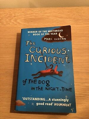 The Curious Incident of the Dog in the Night-time by Mark Haddon (Paperback,...