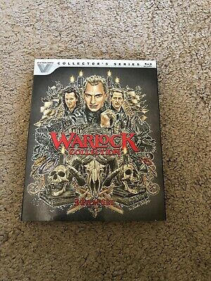 Warlock 1-3 Collection (Blu-ray Disc, 2017) - With Rare OOP Slipcover - USED