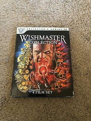 Wishmaster Collection 4 Film Set Blu-ray w/Slipcover Collector's Edition
