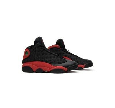 separation shoes 72d85 68f26 NIKE AIR JORDAN 13 RETRO BRED BLACK TRUE RED Size 9.5 Brand New