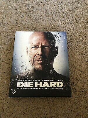 Die Hard: 25th Anniversary Collection (Blu-ray Disc, 2013, 5-Disc Set)