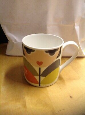 RARE ORLA KIELY A Life In Pattern Fashion And Textile Large Mug Boxed & Flyers