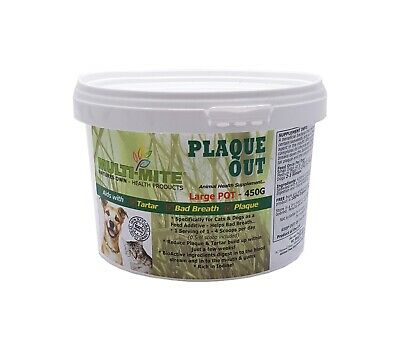 PLAQUE OUT® Dogs and Cats 450G - Plaque Off Dogs Bad Breath and Tartar Removal