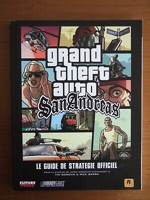 Guide Officiel Fr Gta San Andreas Grand Theft Auto Ps2 Comme Neuf
