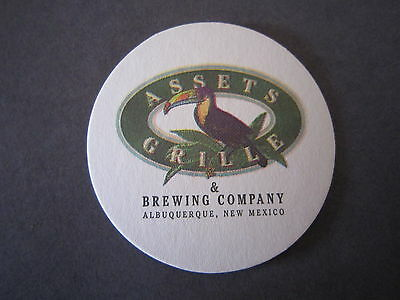 Las Cruces Mat with HOPS HIGH DESERT BREWING Beer COASTER NEW MEXICO in 1999