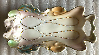 Porcelain Double Spoon Holder or Dish – IPF Germany – beautiful and useful!