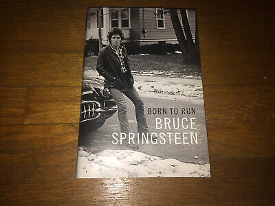 New Born to Run Bruce Springsteen Biography Hardcover Rock & Roll Memoir Classic