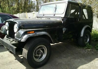 1984 Jeep CJ CJ-7 CJ7 THAT NEEDS TLC