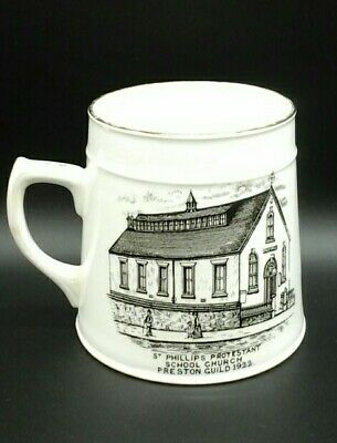 Preston Guild 1922   St Phillips Protestant School Church  Mug