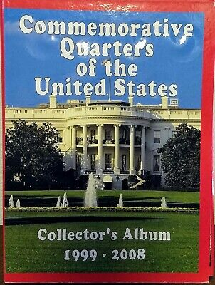 50 US State Quarters Complete Set Album 1999-2008 - Instant Collection