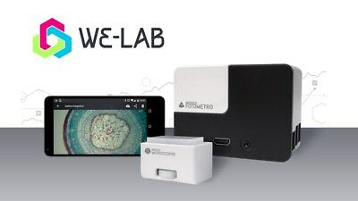 We-Lab Laboratorio scientifico mobile (microscopio+fotometro collegati su app)