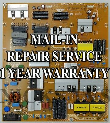 Mail-in Repair Service ADTVE1835AC8 LG Power Supply for M65-C1 1 YEAR WARRANTY