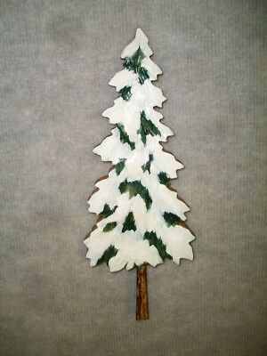 Hand Carved Evergreen Tree Walking Stick Nature Carving on Hiking Stick by Creation Carvings