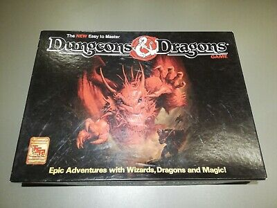 DUNGEONS & DRAGONS - Role Playing RPG fantasy board game