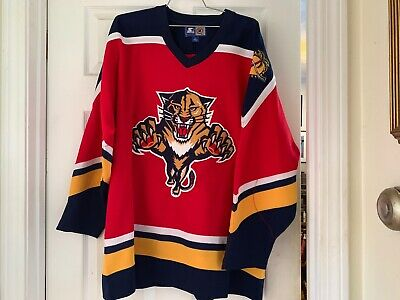 FLORIDA PANTHERS VINTAGE 1990s HOCKEY JERSEY! ABSOLUTELY FANTASTIC CONDITION!