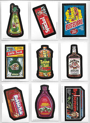 Wacky Packages Old School Series 1 Set 33 Cards Plus 9 Card Puzzle & Wrapper