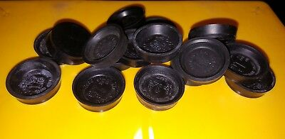 "Lot of 17 Wheel Cylinder Cups 1 3/16"" Made in U.S.A."