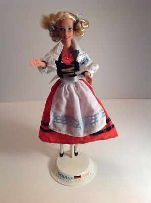 Barbie 1994 German Dolls Of The World Complete Outfit Only Newly Deboxed